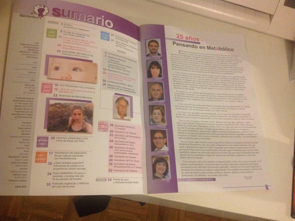 Nuevo numero de la revista