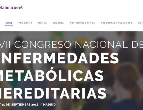XVII Congreso Nacional de Enfermedades Metabólicas Hereditarias