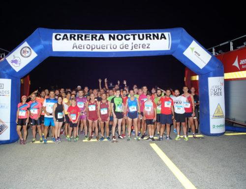 I Carrera Nocturna Aeropuerto de Jerez en beneficio de la asociación andaluza de enfermedades metabólicas