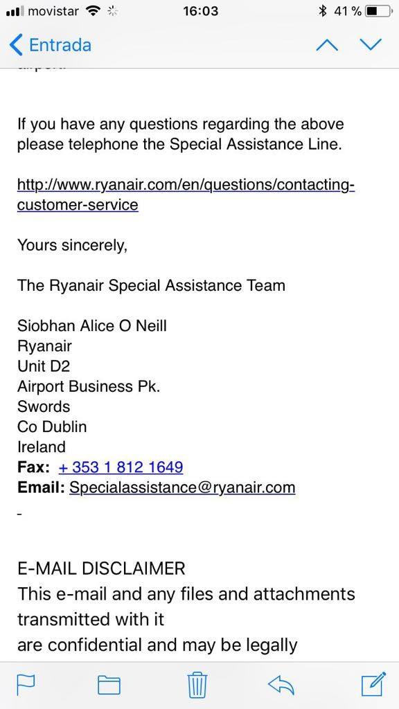 viajar en avión con fórmula Ryanair