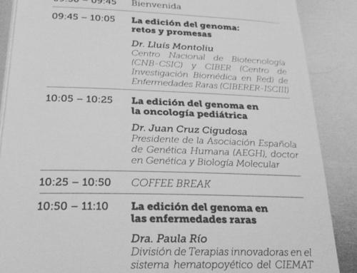 Jornadas CrispR/Cas9: Manual de uso de la edición génica