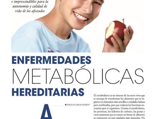 Reportaje sobre enfermedades metabólicas hereditarias en Salud Total