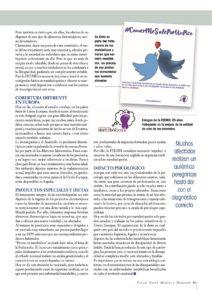 Reportaje sobre enfermedades metabólicas Hereditarias en Salud Total 3