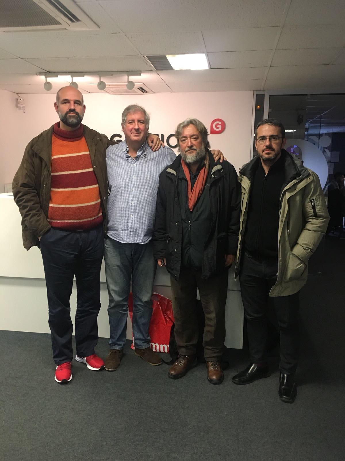 Entrevista a Aitor Calero en Gestiona Radio