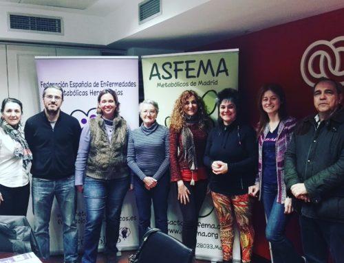 Encuentro con especialistas en metabolopatías en Madrid